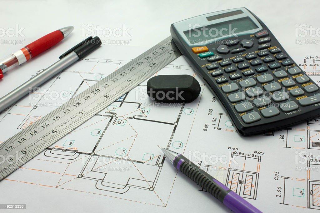 Design tools stock photo