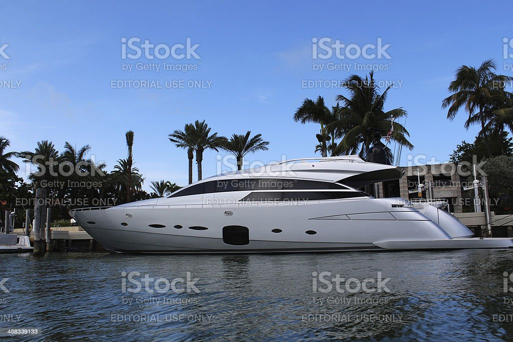 design yacht miami star island royalty-free stock photo