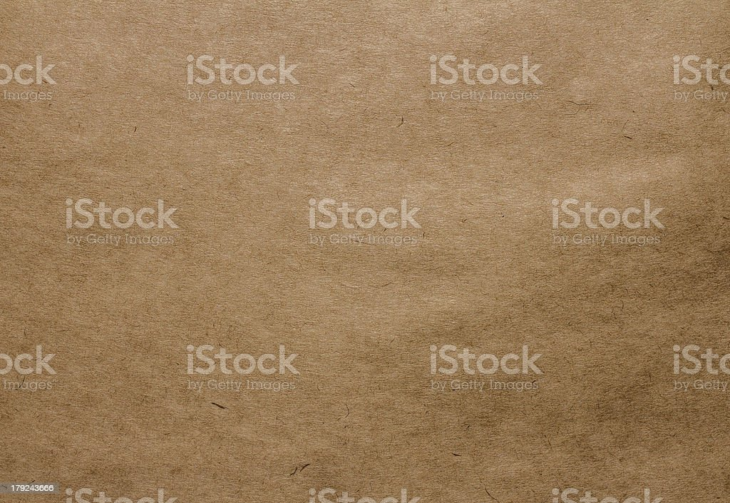 Designed grunge brown natural recycled paper texture, background royalty-free stock photo