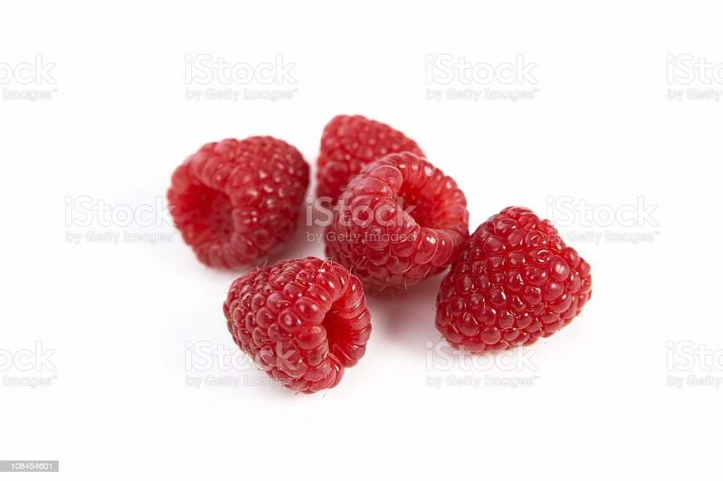 Designed Raspberries #5 royalty-free stock photo