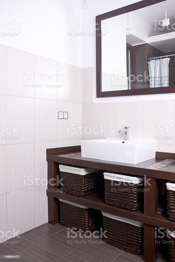 Designer Bathroom royalty-free stock photo