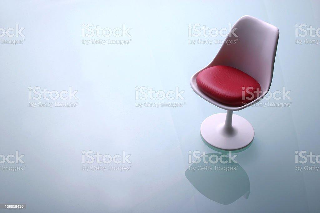 Designer chair 1 stock photo