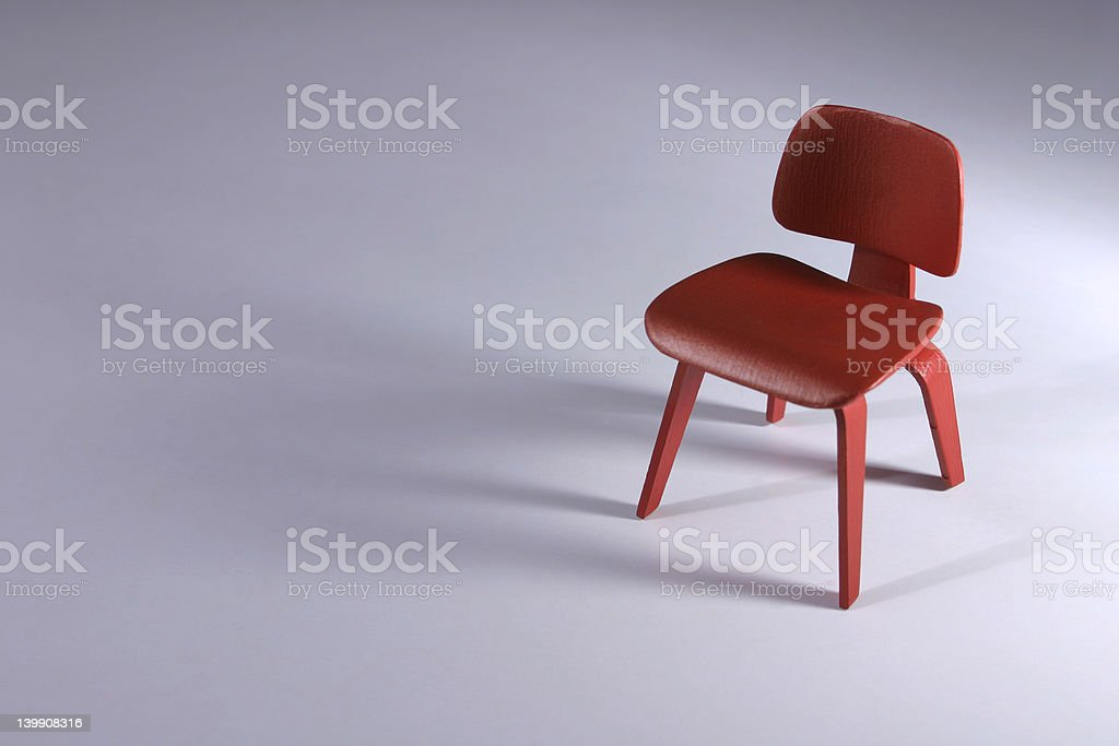 Designer Chair - Dining stock photo