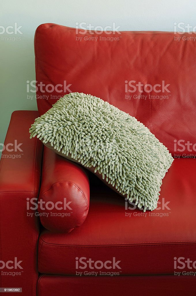 Designer couch royalty-free stock photo