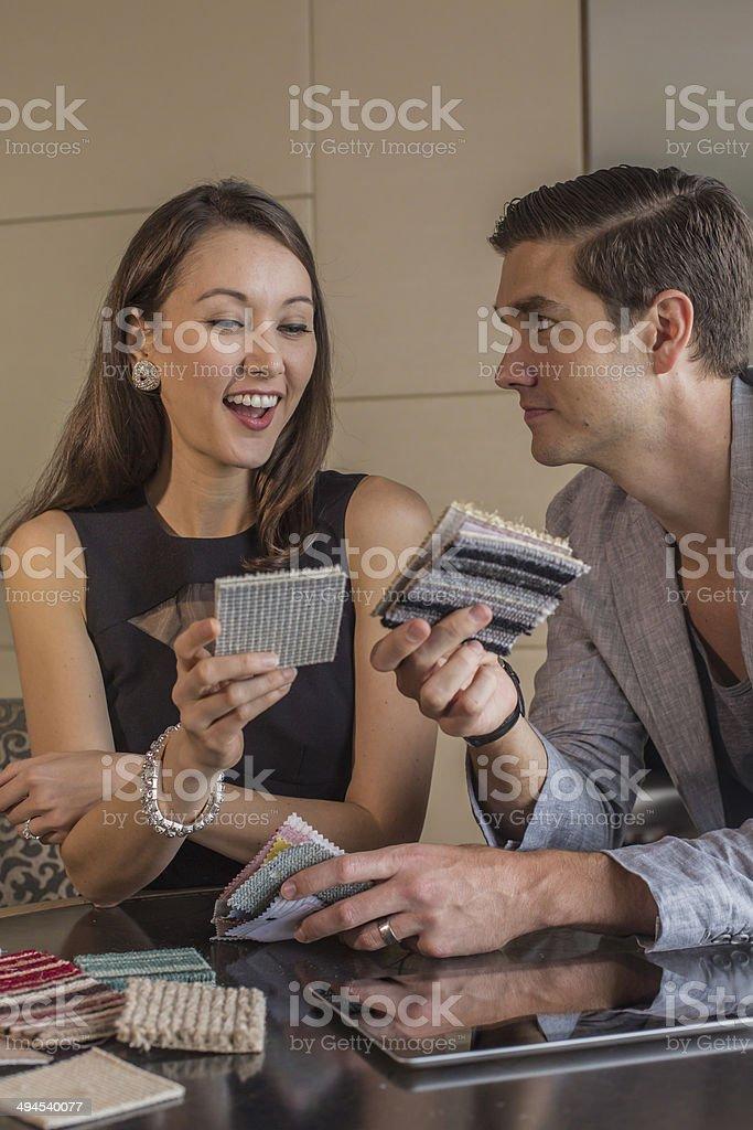 Designer Couple royalty-free stock photo