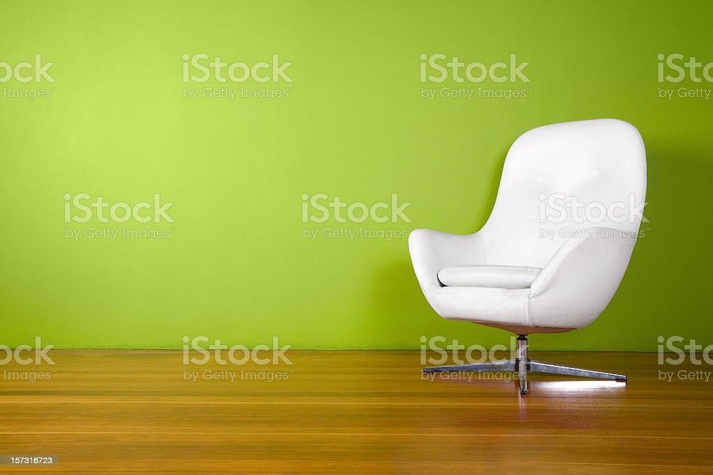 Designer Egg Chair Background stock photo