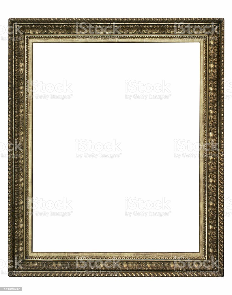 Designer frame - for your layout stock photo