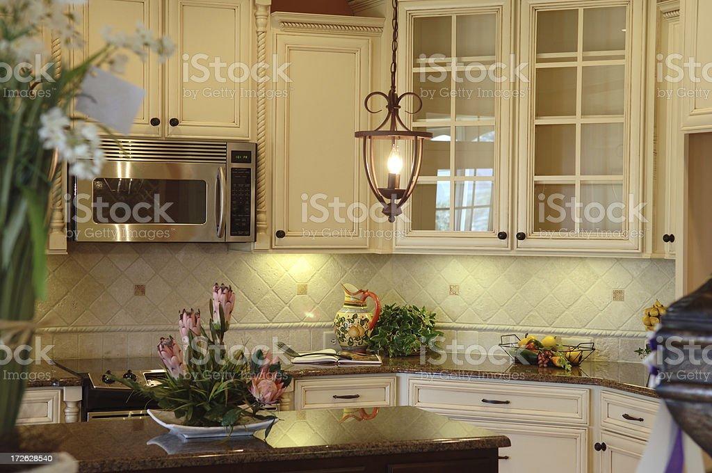 Designer kitchen royalty-free stock photo