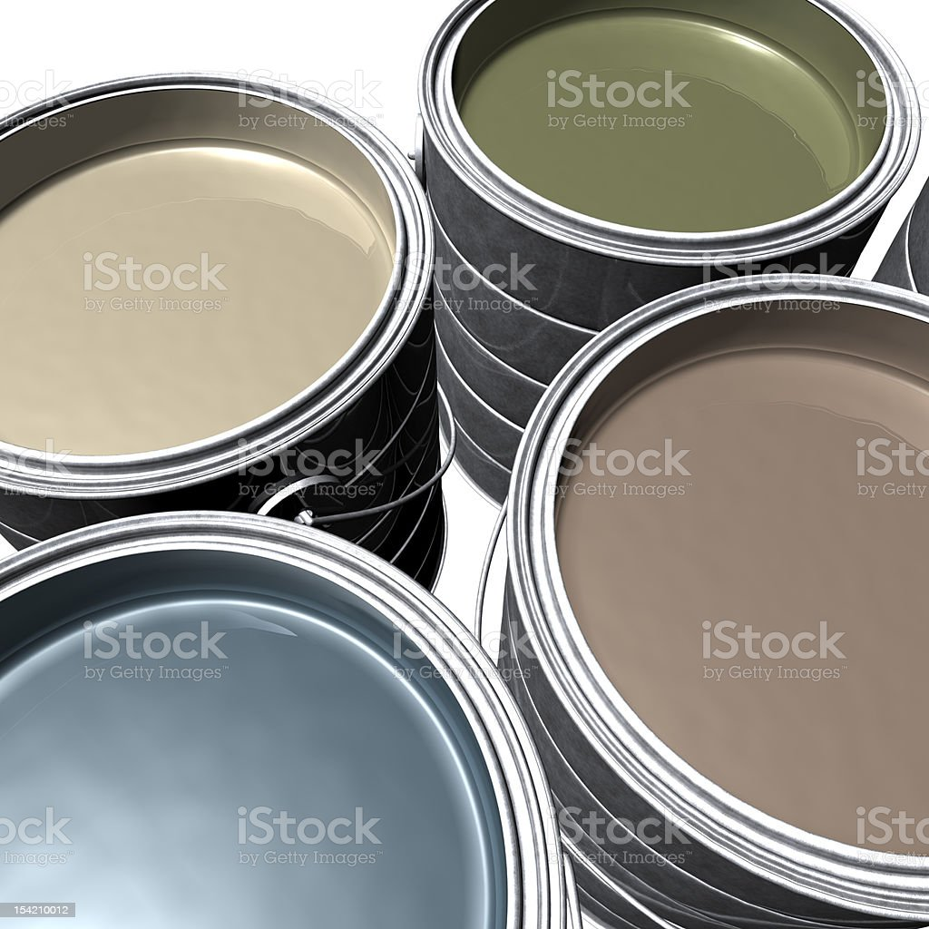Designer Paint royalty-free stock photo