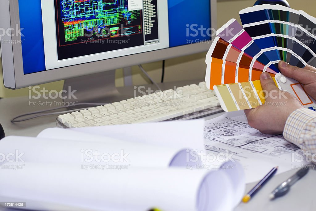 Designer royalty-free stock photo