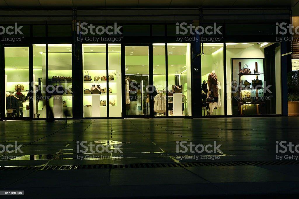 designer shop royalty-free stock photo