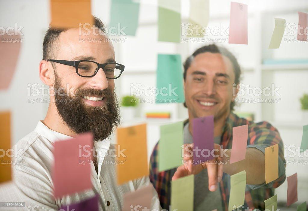 Designer team stock photo
