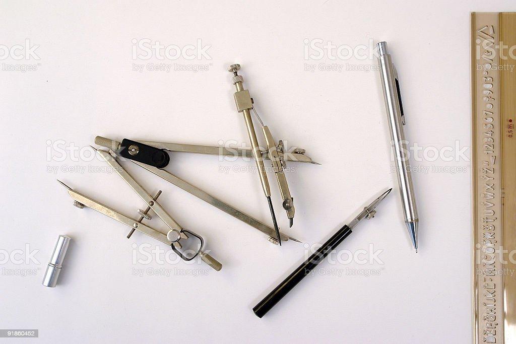 Designer tools royalty-free stock photo