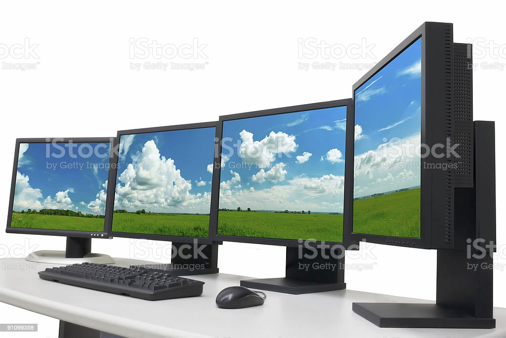 designer's workplace in office royalty-free stock photo