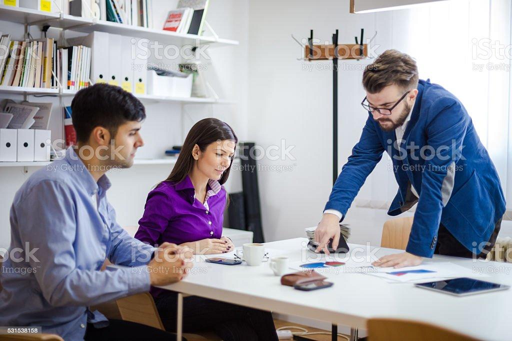 Designing future stock photo