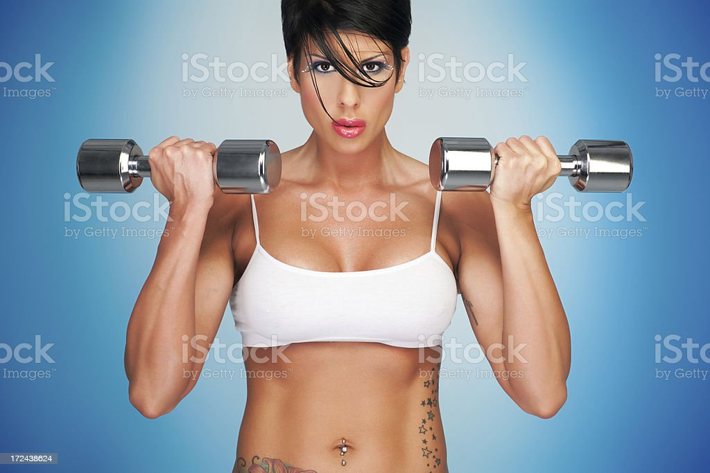 Desire For Fitness royalty-free stock photo