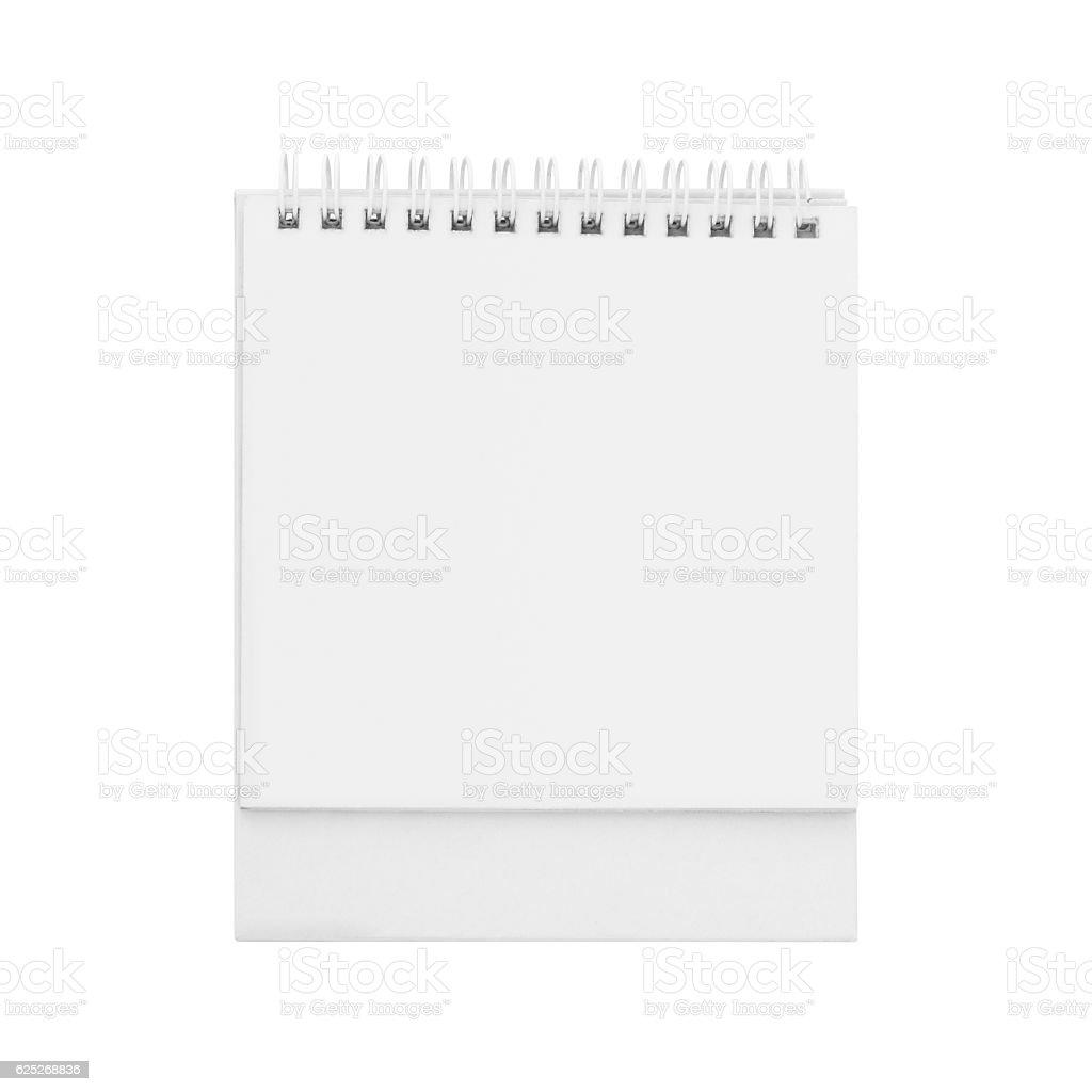 Desk calendar. stock photo