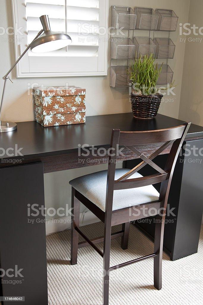 Desk royalty-free stock photo