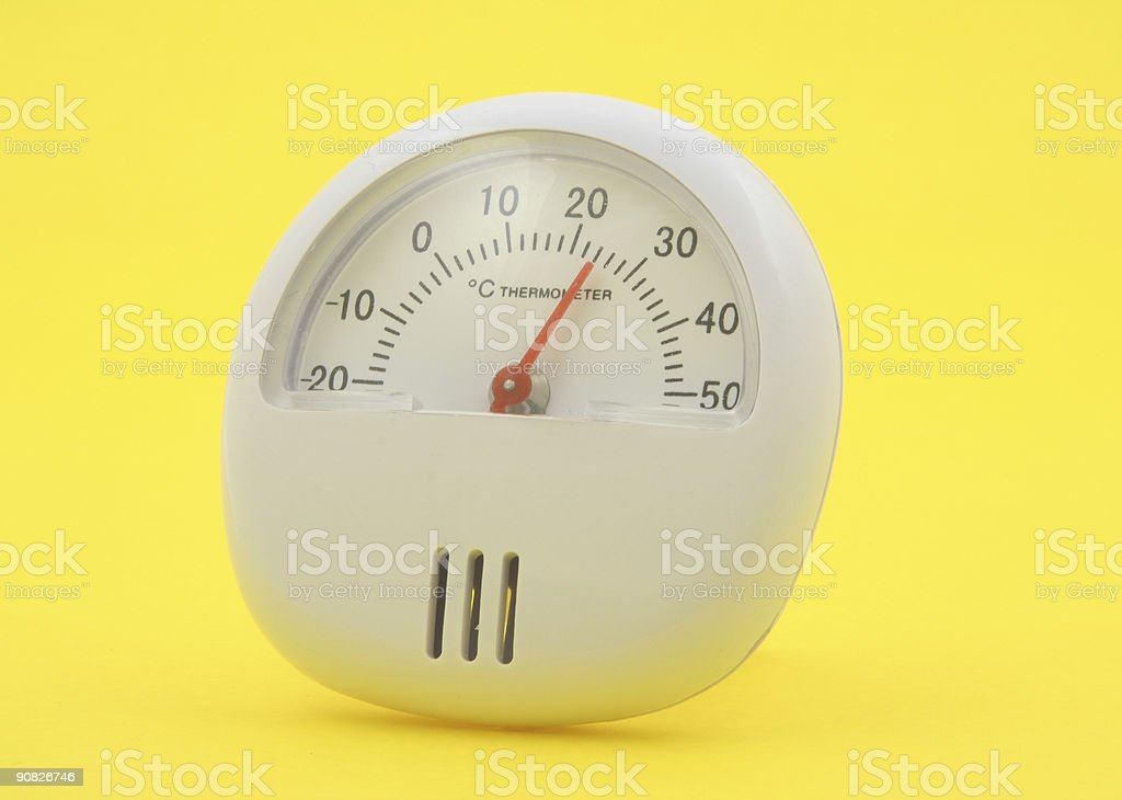 desk thermometer royalty-free stock photo