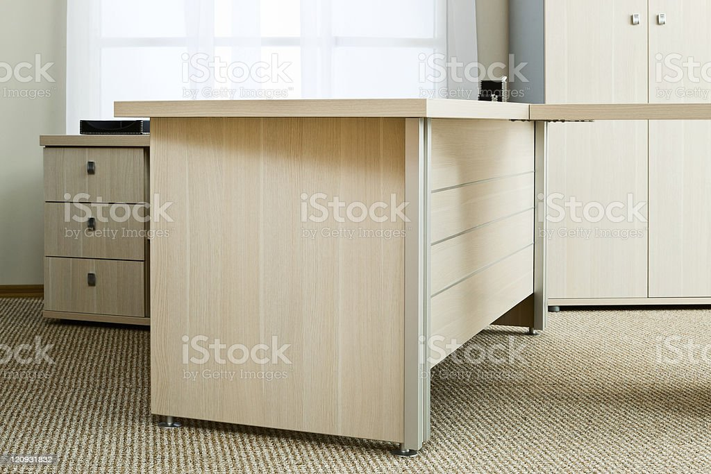 desk with drawers royalty-free stock photo