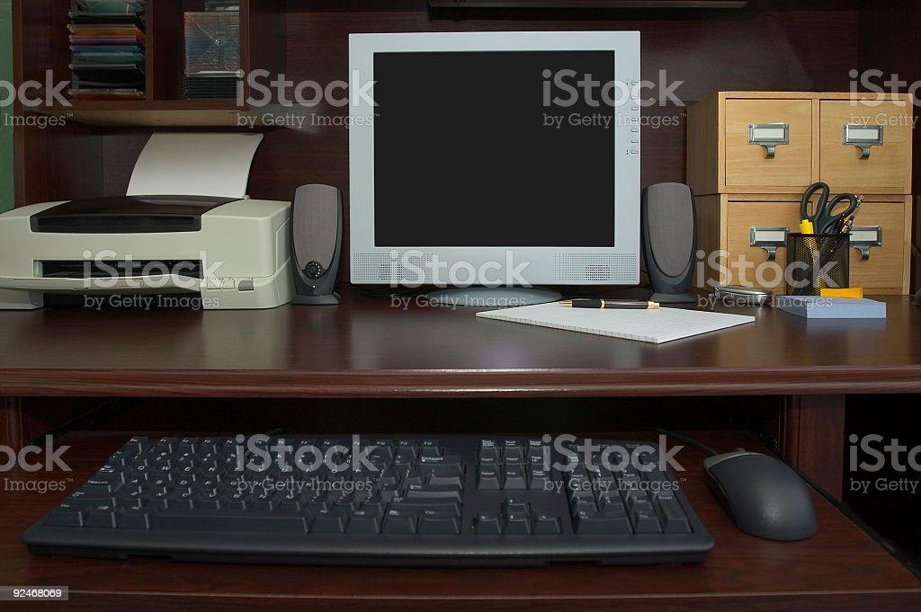 Desktop 3 (REQUEST) royalty-free stock photo