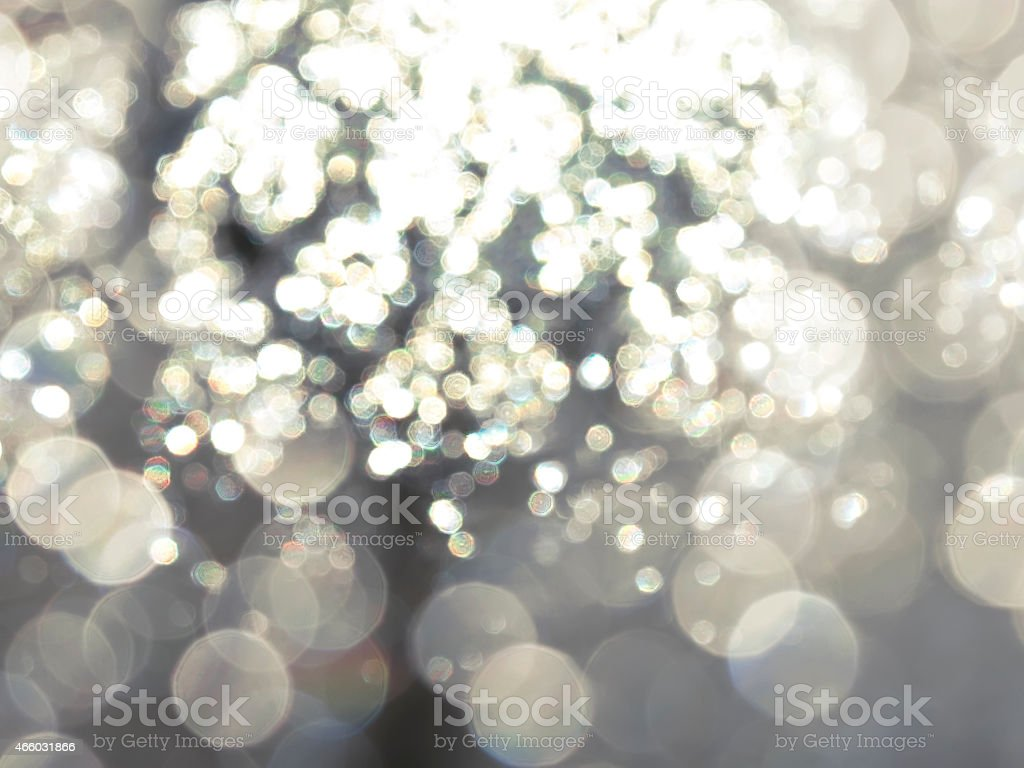 A desktop background of various out of focus lights  stock photo
