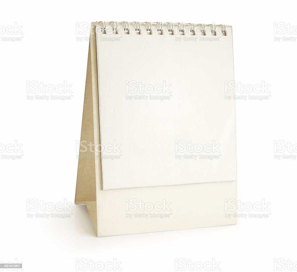 Desktop Calendar - pyramid stock photo