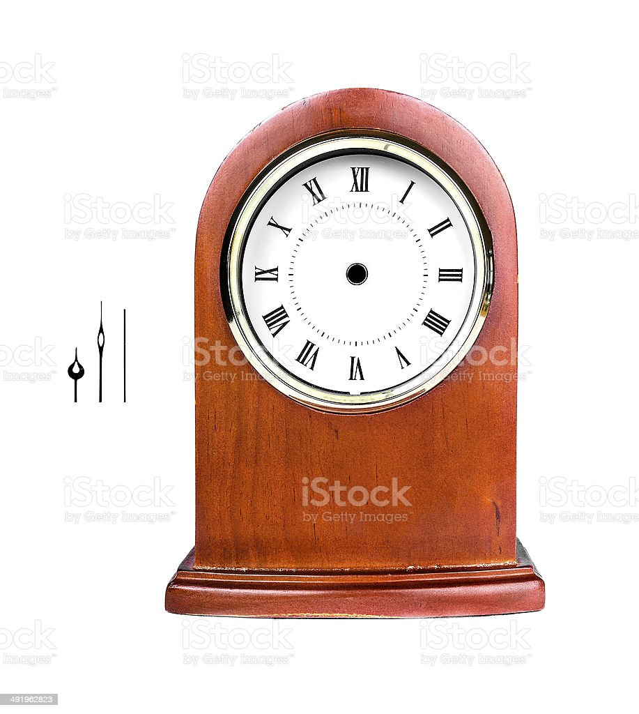 Desktop clock royalty-free stock photo