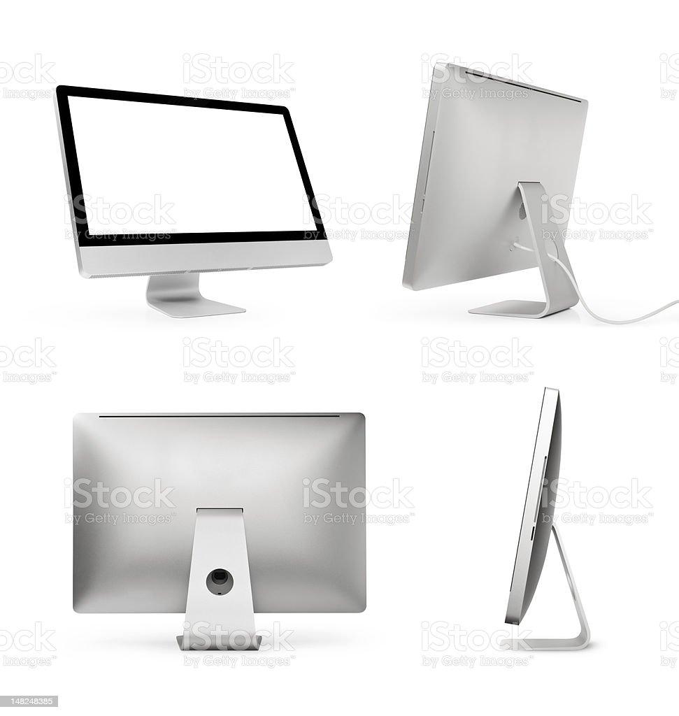 Desktop Computer Series stock photo