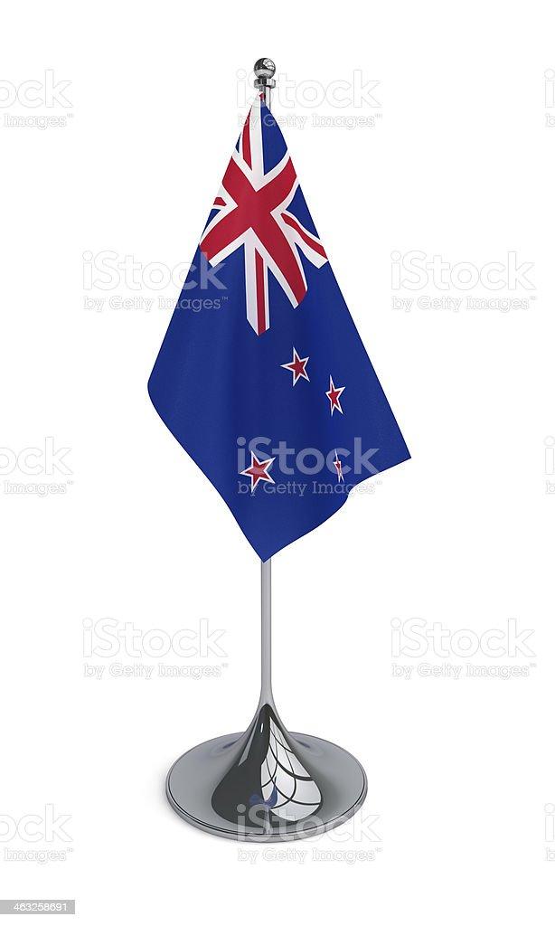 Desktop Flag of New Zealand stock photo