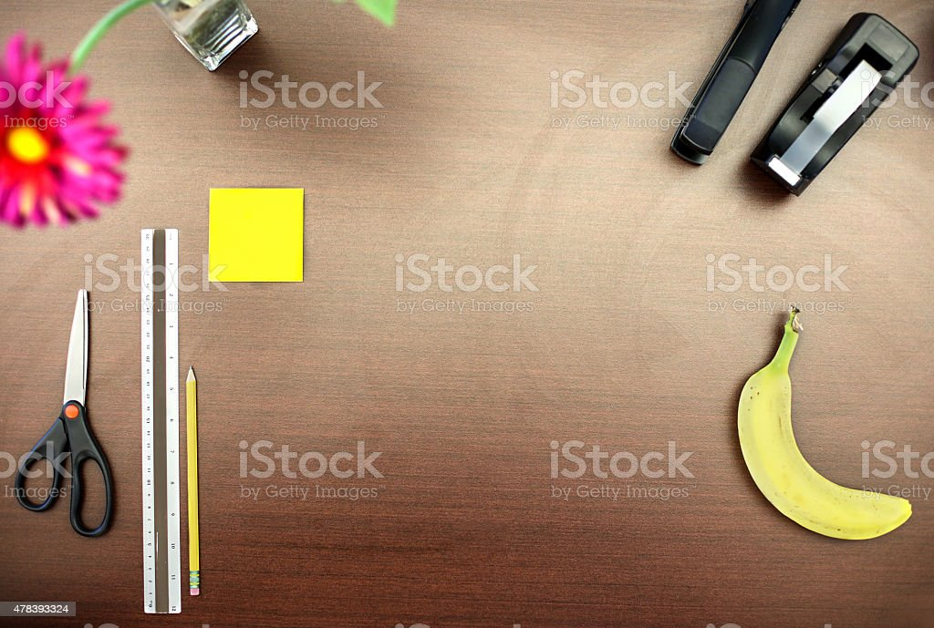 Desktop stock photo