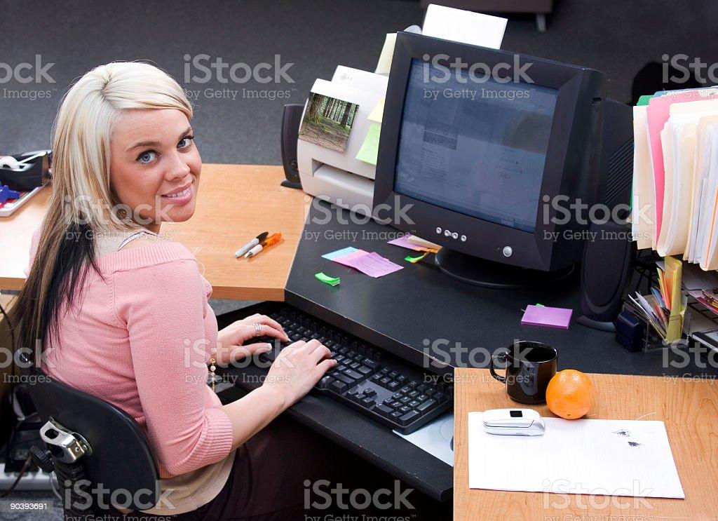 desk-work royalty-free stock photo