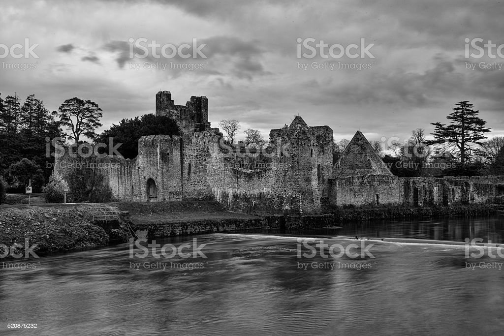 Desmond Castle, Adare stock photo