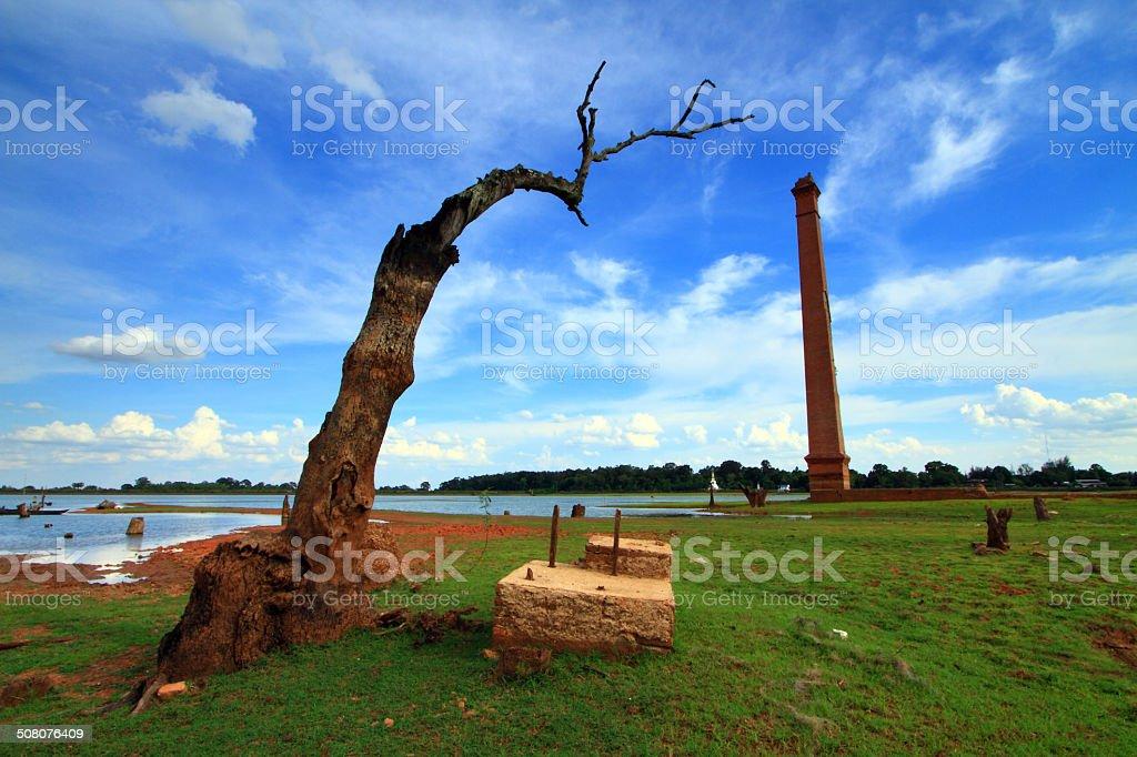 desolate place stock photo