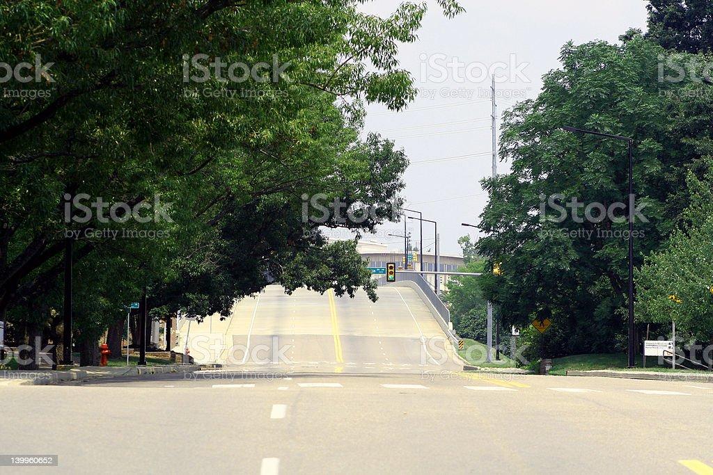 Desolate Streets stock photo