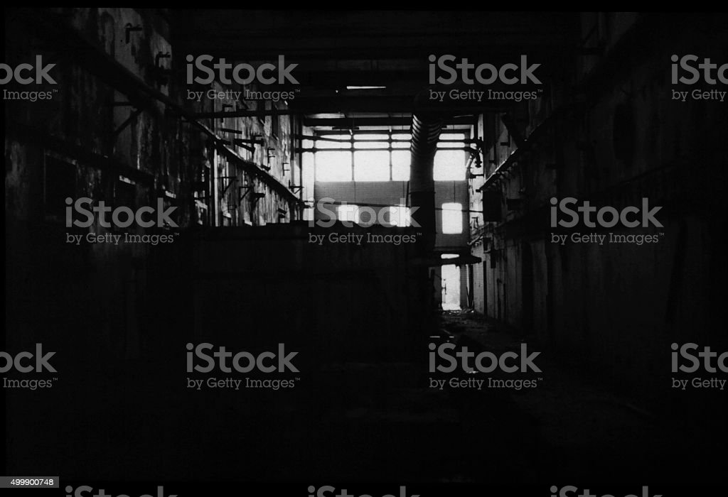 Desolation, abandon Industry stock photo