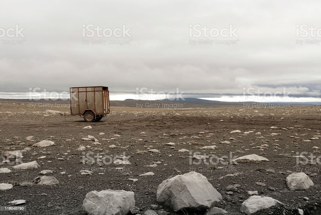 Desolation stock photo