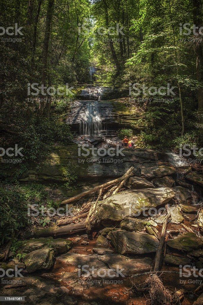 Desoto falls royalty-free stock photo