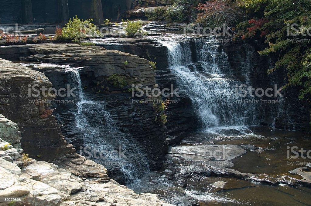 DeSoto Falls stock photo