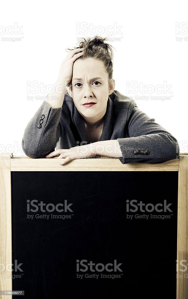Despair stock photo