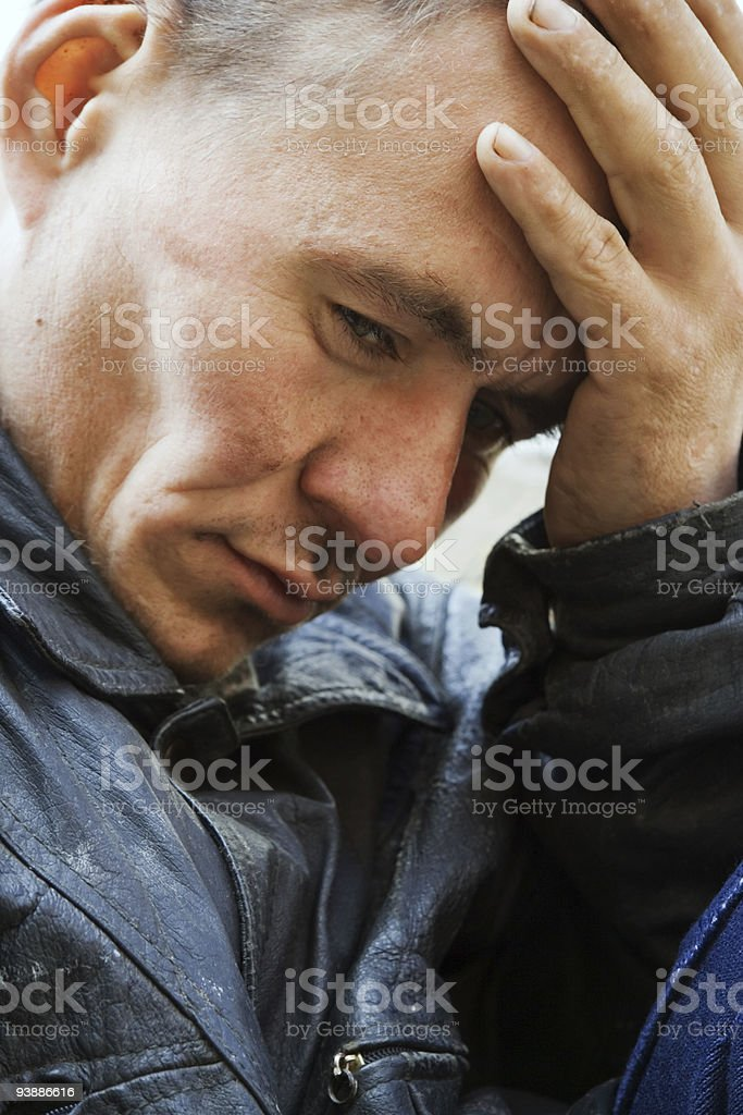 Despair. royalty-free stock photo