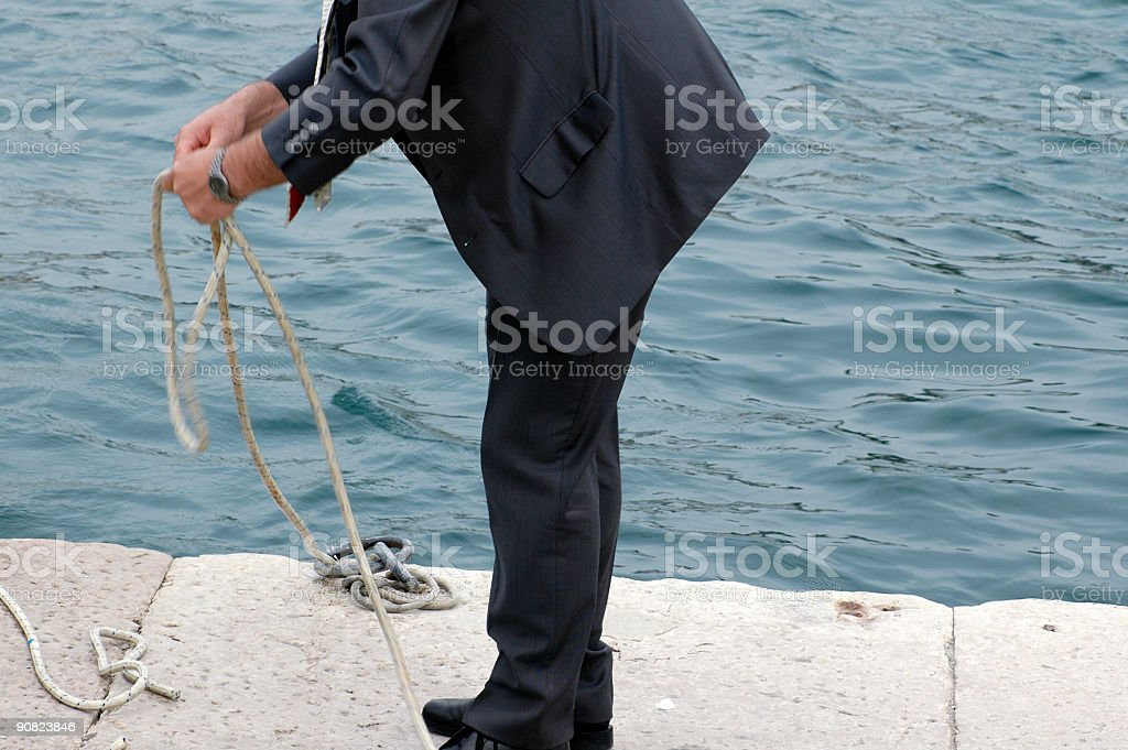 desperate business man stock photo