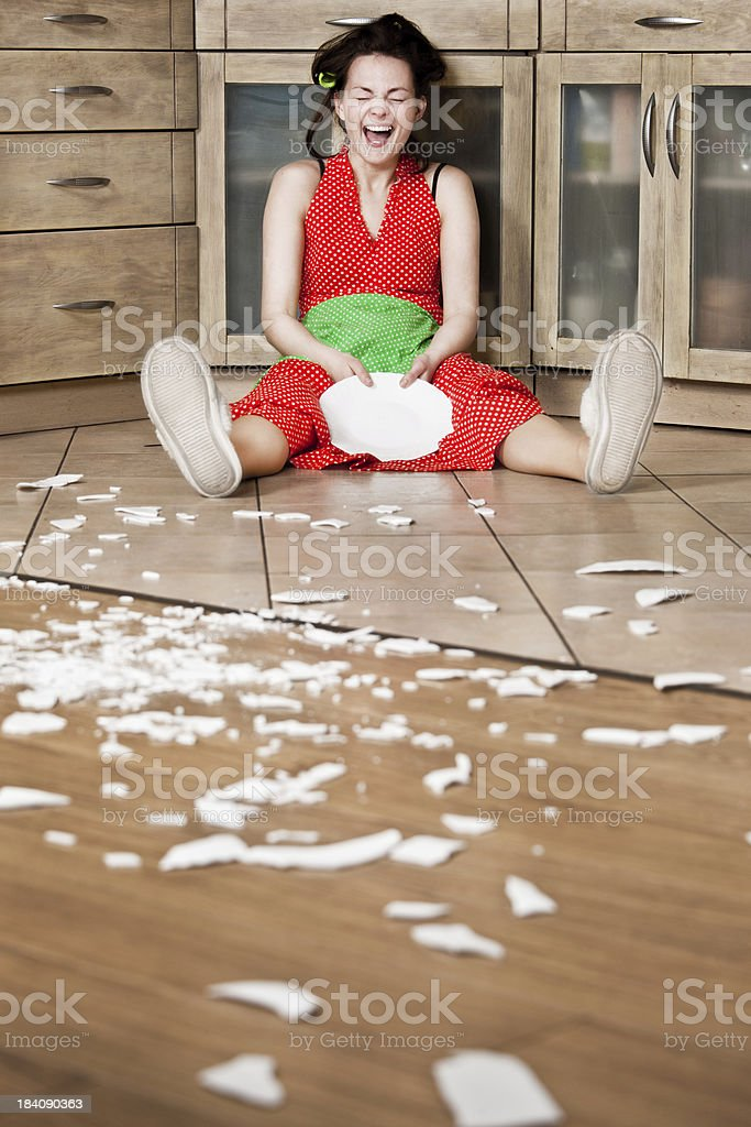 Desperate housewife royalty-free stock photo