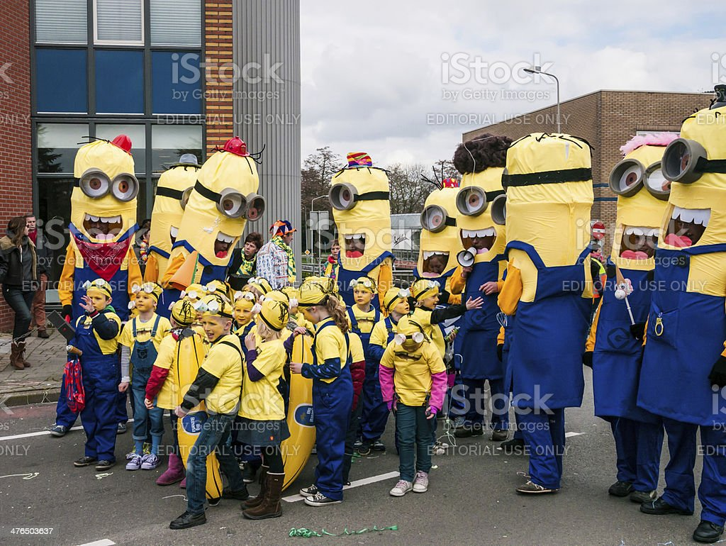 despicable me, minions stock photo