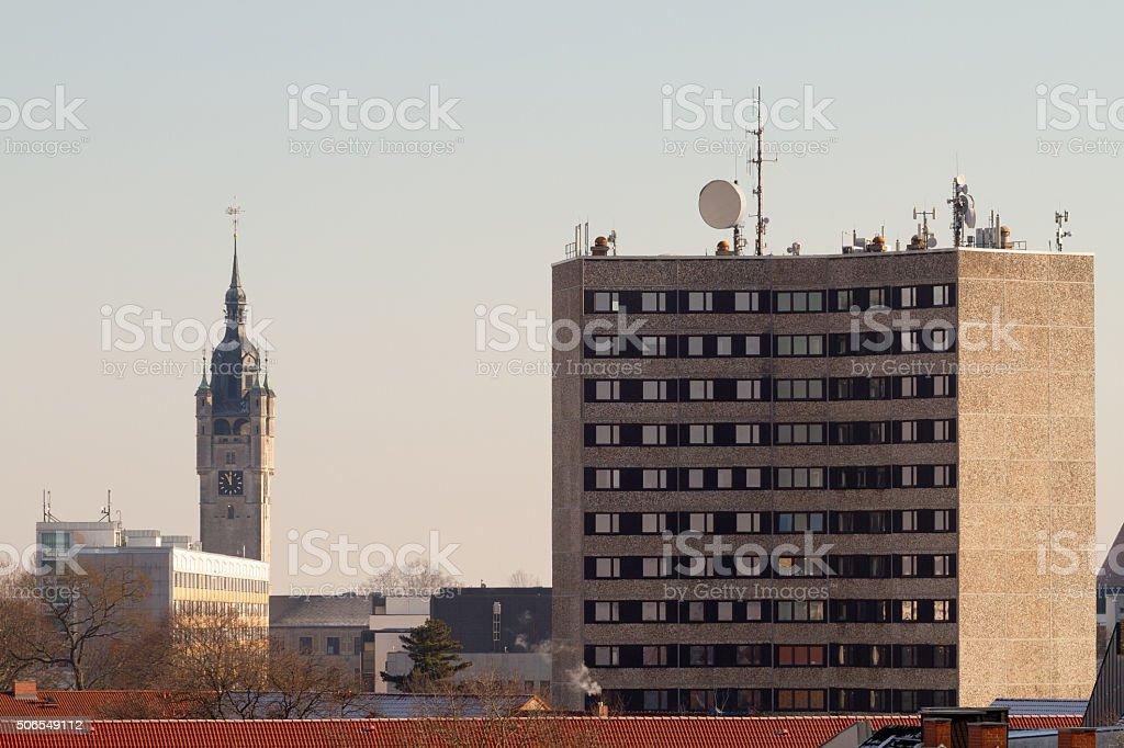 Dessauer Ansichten stock photo