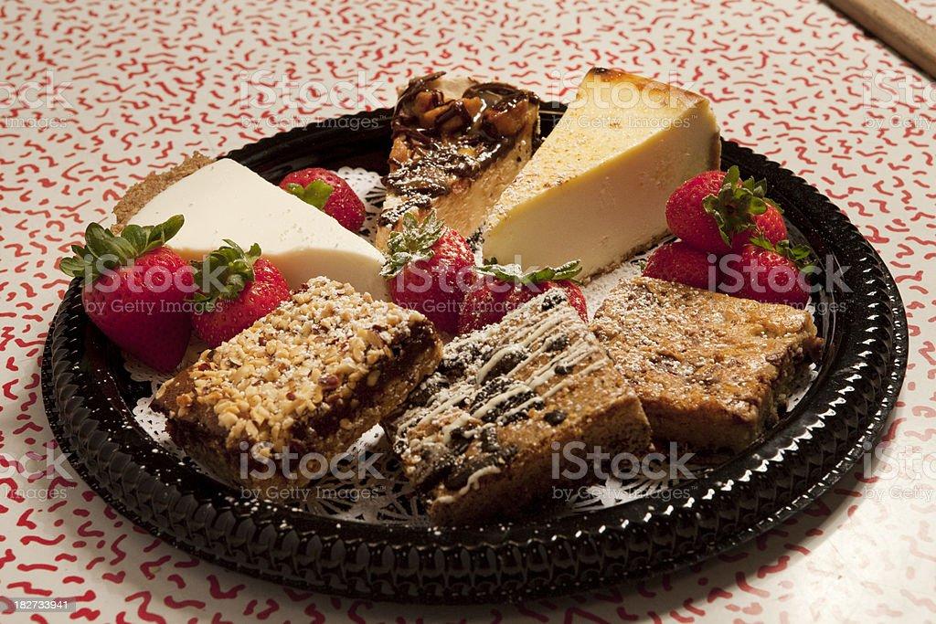 Dessert Assortment royalty-free stock photo