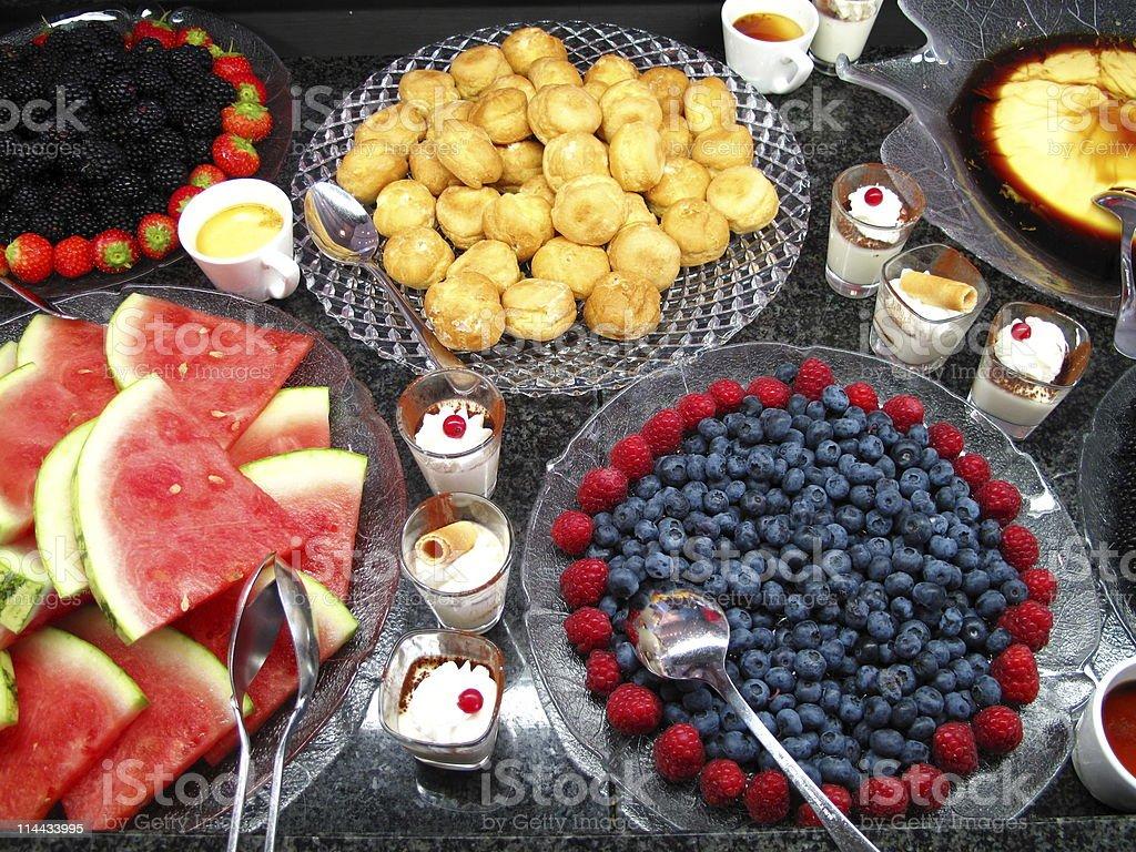 Dessert Büfet royalty-free stock photo