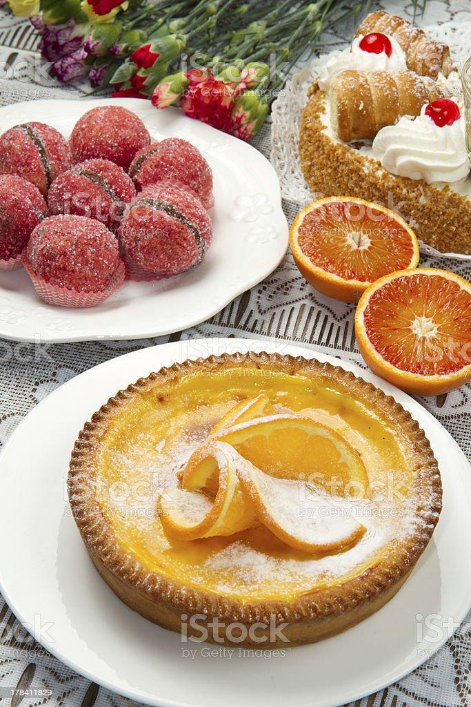 dessert buffet royalty-free stock photo