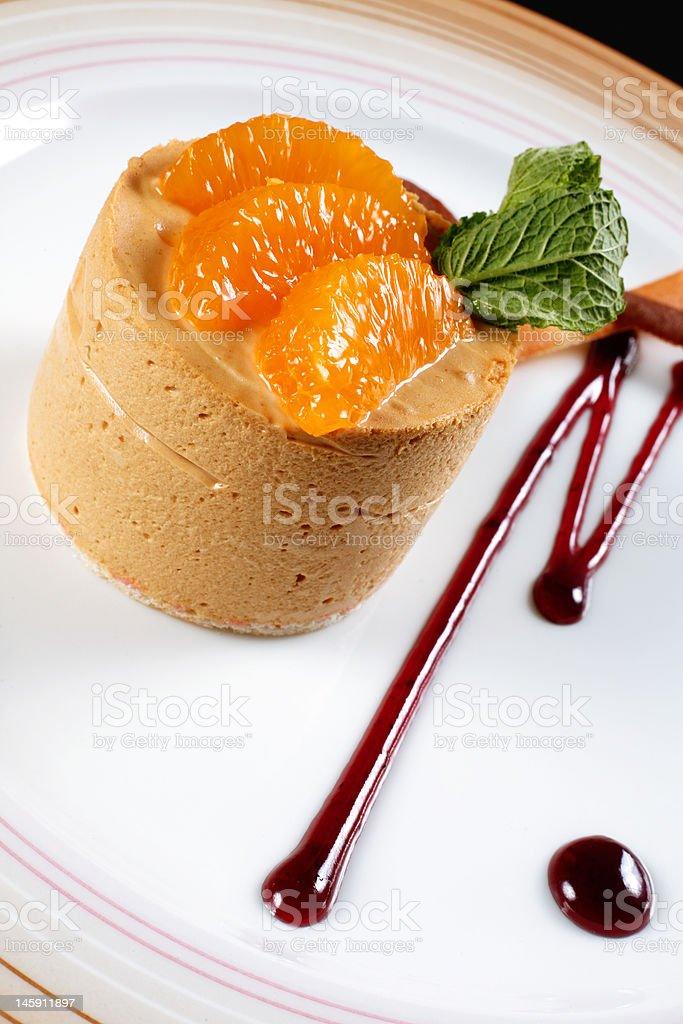 Dessert cake royalty-free stock photo