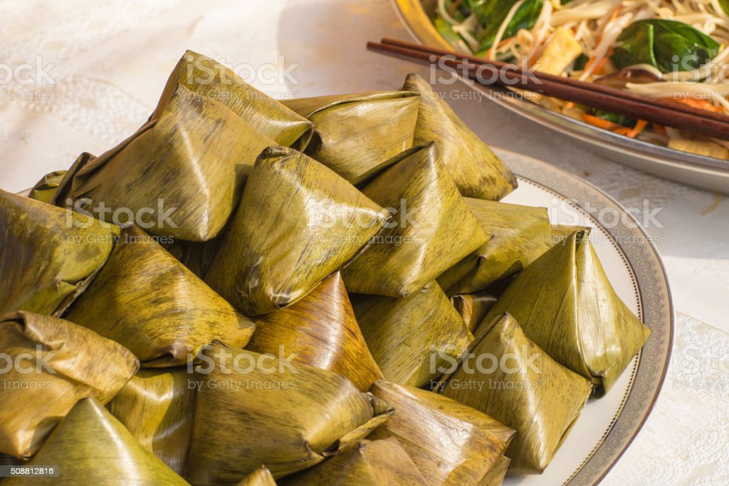 Dessert for Chinese New Year. stock photo